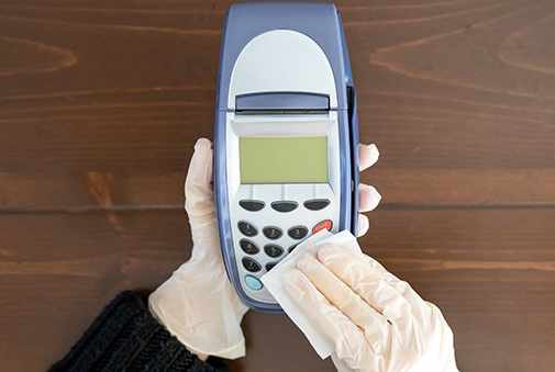 Keeping Payment Terminals Clean