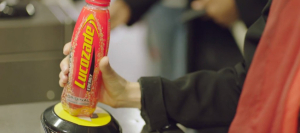 Travel for free on the Tube with just a Lucozade bottle